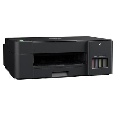 A multifuncional tanque de tinta colorida DCP-T420W da serie InkBenefit e ideal para uso domestico ou no escritorio que precisam de um equipamento de