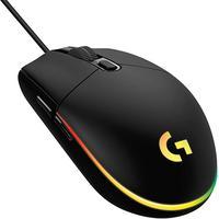 Mouse Gamer Logitech G203 RGB Lightsync, 6 Botões, 8000 DPI, Preto    O mouse G203 LIGHTSYNC está pronto para os jogos com um sensor que possui sensib