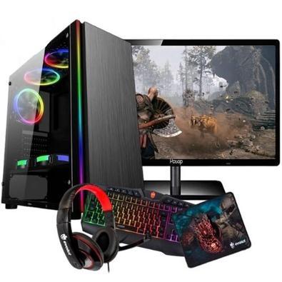 Pc Gamer Intel/ Core I5/ 8gb/ Geforce 2gb / Wi-fi/ LedPROCESSADOR