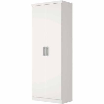 O Guarda Roupa Multiuso Margarida Henn 02 portas de Abrir é a peça perfeita para quem procura um móvel elegante e que poupe espaço. O guarda roupa pos