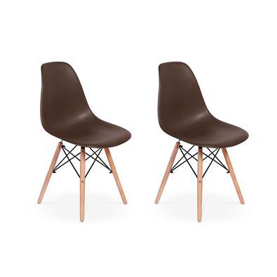 Cadeira Charles Eames Eiffel Dkr Wood - Base De Madeira As cadeiras Eiffel são importantes itens para a sua decoração. Independente da proposta, a dec