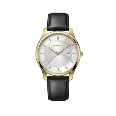 Relógio Wenger City ClassicEste relógio multiuso representa elegância casual.A cidade será seu complemento ideal e equipamentos de viagem, seja para a