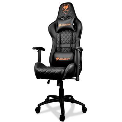 Cadeira Gamer Cougar Armor One Black Preta - 3MAOBNXB-0001O COUGAR Armor One Black oferece o conforto necessário para desfrutar de longas sessões de j