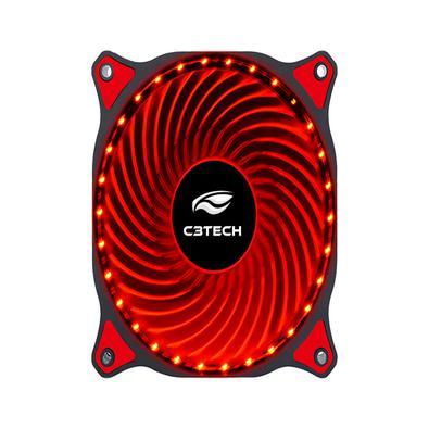 O Cooler Fan F7-L130, oferece excelente fluxo de ar e baixo ruído, com um design de LEDS vermelhos integrados à estrutura ! Melhor que isso, só o Kabu