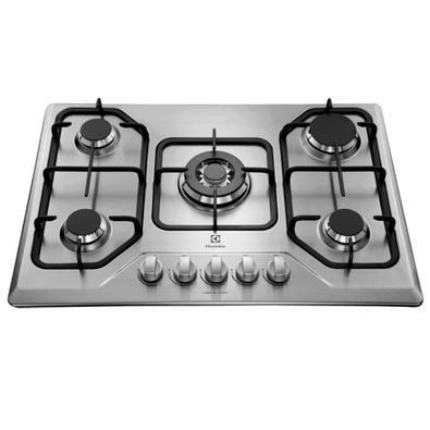 O cooktop a gás com 5 queimadores da Electrolux é uma peça com requinte e sofisticação que se destacará em sua cozinha gourmet um verdadeiro item que