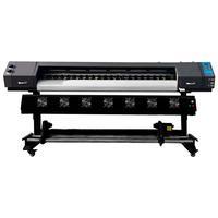 A Plotter de Impressão NAGANO trabalha com uma largura máxima de impressão de 1.80M, permitindo que sejam realizadas impressões com tintas Eco-Solvent