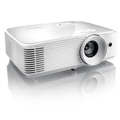 Projetor EH412 Optoma DLP 1080p 4500 Lúmens Branco - A reprodução precisa de cores cinematográficas na sua casa!