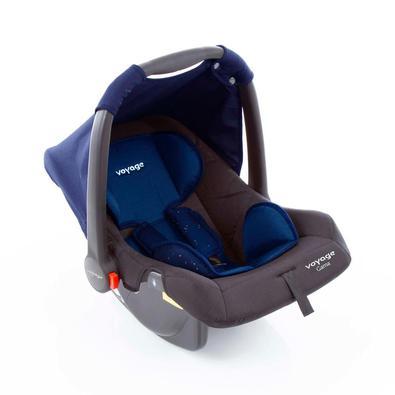 Alça ajustável com 4 posições, almofada acolchoada redutora para os recém-nascidos e capota removível para proteger seu bebê. Capa lavável na máquina.