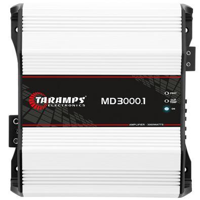 Modulo Taramps Md 3000.1 3000W RMSO amplificador MD 3000.1 é desenvolvido com a mais alta tecnologia e desempenho para sistemas de som automotivo. É m