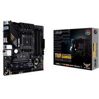 A TUF Gaming B550M-PLUS reúne os elementos essenciais da mais recente plataforma AMD e os combina com funcionalidades prontas para jogos e durabilidad