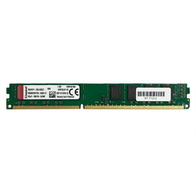 Memoria Kingston 8GB DDR3, 1600MHz, CL11, KVR16LN11/8
