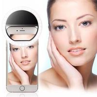 --- Mini Ring Light Anel Selfie Flash P/ Fotos Celular Universal ---Clipe importado com feixes de LED para adaptar em tablets, smartphones, notebook o