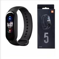 A mi band 5 é a mais nova pulseira inteligente da Xioami, tem toda a qualidade já conhecida da marca chinesa com especificações e funções incríveis! P