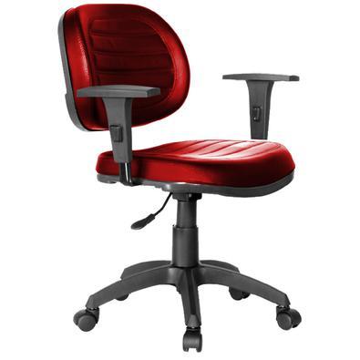 Cadeira Executiva COSTURADA Giratória com Braços Reguláveis - MARTIFLEX