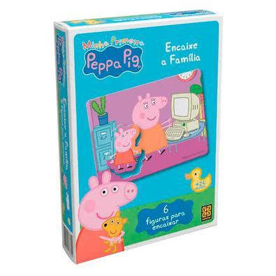 Jogo Encaixe a Família Peppa Pig