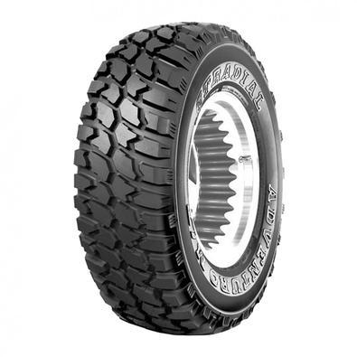O Adventuro M/T é um pneu off-road com máxima tração para SUVs e caminhões leves. É o pneu com desenho mais agressivo da linha. Desenhado com blocos g