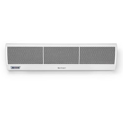 A Cortina de Ar Springer evita a perda de ar climatizado de ambientes que precisam ficar com as portas abertas, proporcionando mais conforto e economi