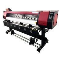 A Plotter de Impressão Digital Nagano Cabeça de Impressão XP600 trabalha com uma largura máxima de impressão de 1.90m permitindo que sejam realizadas
