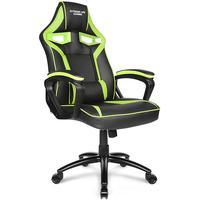 Cadeira Gamer Raptor, ergonômica com design inspirado em bancos de automóveis esportivos, traz o máximo em conforto para várias horas de jogo. Constru