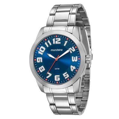 Relógio Masculino Mondaine é perfeito para os homens que adoram estilo, com lindos desings, combinam com todos os momentos. O modelo 99130G0MVNE2 na c