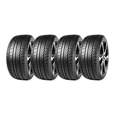 Os pneus Sunfull Mont Pro HP881: -Utilizam dois padrões de piso diferentes que permitem tração seca e compatibilidade com todas as estações. -Evacuaçã