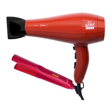 O Bella Pro Íon é um secador profissional da marca Gama Itally, perfeito para quem busca praticidade e alto desempenho. Oferece uma finalização incrív
