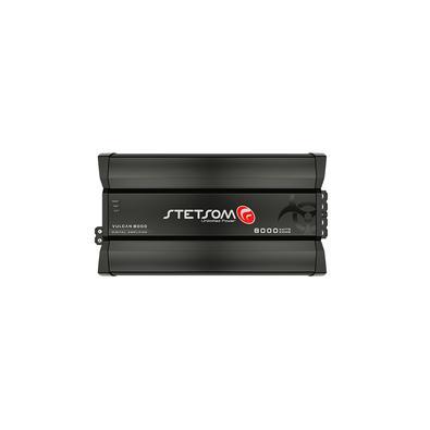 O módulo amplificador Stetsom Vulcan 8000 é desenvolvido com a mais avançada tecnologia para quem busca desempenho em sistemas de áudio com um ou mais