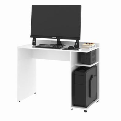 Uma Mesa de computador com amplo espaço é essencial para que você consiga comportar seu computador, com todos seus acessórios e ainda organizar seus d