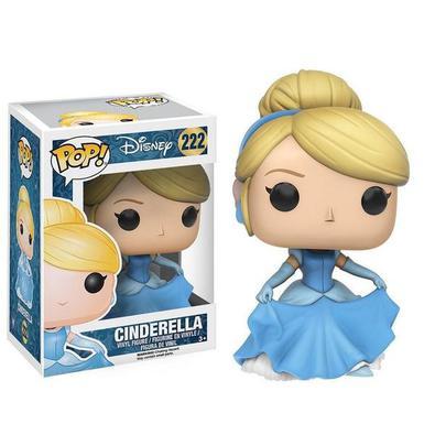 Funko Pop!Cinderella - Cinderella,POP vinyl da Funko! - Boneco de aproximadamente 10cm, vai com a caixa Confira os outros Pop! da Marvel, Filmes,