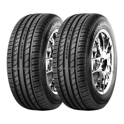 Pneus compostos de alta tecnologia, maximizam a área de contato do pneu com o solo, contribuindo com a aderência no piso seco e molhado. O modelo SA-3