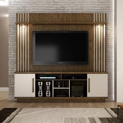 Home Plenus Decore sua sala com Painel Home para TV, é produzido com os melhores materiais, proporcionando uma alta resistência e durabilidade prolong