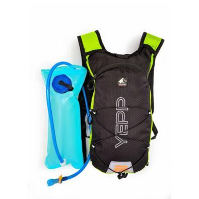 Ideal para longos percursos, ciclismo, caminhadas.   Possui 1 Bolsos com zíper com divisória interna em elástico para colocar a bolsa de água, 1 Bolso