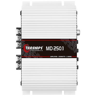 O amplificador TarampsMD 250.1 2 OHMS e 4 OHMS é desenvolvido com a mais alta tecnologia e desempenho para sistemas de som automotivo. É mono, com pot