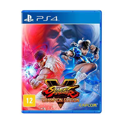 Street Fighter V - Champion Edition - PlayStation 4 · Domine o ringue com Street Fighter V: Champion Edition, a versão mais robusta do aclamado jogo d