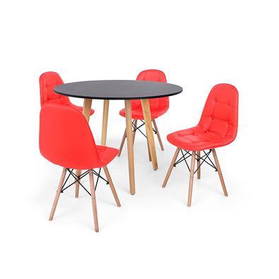 O Conjunto Mesa de Jantar Laura com Cadeiras Botonê são importantes itens para a sua decoração. Independente da proposta, a decoração da sua residênci