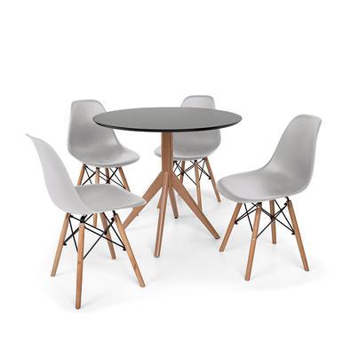 Conjunto Mesa de Jantar Maitê com Cadeiras Charles Eames são importantes itens para a sua decoração. Independente da proposta, a decoração da sua resi