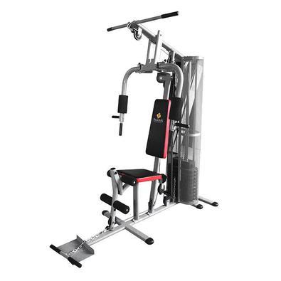 A Estação de Musculação Multifuncional Pelegrin PEL-50KG 8 em 1 de treinamento pode ser usada para fortalecer e modelar grupos musculares do corpo com