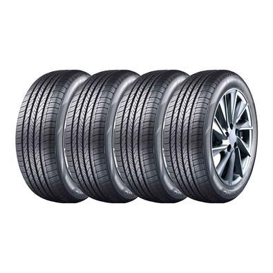Os pneus Aptany RP203 possuem quatro grandes sulcos longitudinais, com ótima capacidade de escoamento de água. Assim, assegura segurança em estradas e