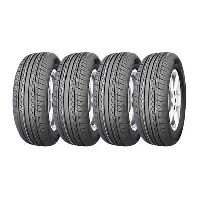 O pneu AOSEN HH301 possui 4 sulcos longitudinais largos, melhorando a drenagem da água e a estabilidade em estradas escorregadias. O design dos ombros