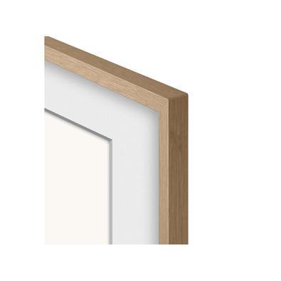 TV The Frame foi pensada para ser uma obra de arte na sua casa, e você pode personalizá-la escolhendo diferentes cores de molduras com dois tipos de d