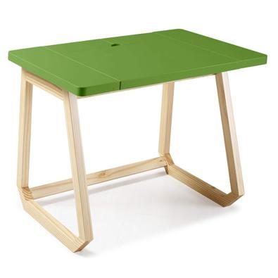 Desenhada pela Amueblate, escritório de design com localização no Uruguai, a escrivaninha Hush é versátil, moderna e divertida, a escrivaninha serve p