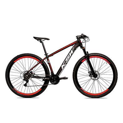 A KSW éuma bicicleta Aro 29 com freio a disco desenvolvida para passeios e um bom começo nas primeiras trilhas da categoria MTB.Quadro em alumí,nio 6