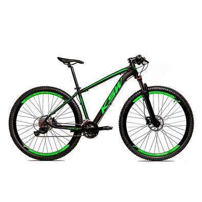 A KSW é uma bicicleta Aro 29 com freio a disco desenvolvida para passeios e um bom começo nas primeiras trilhas da categoria MTB.Quadro em alumí,nio 6