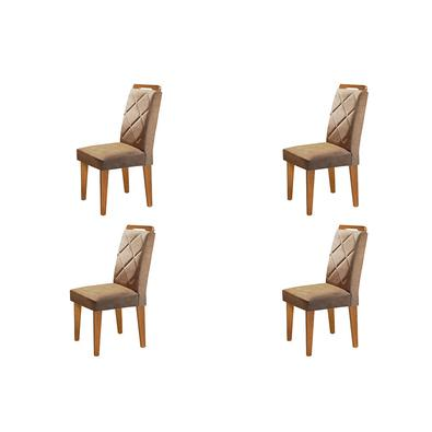 Complete sua sala de jantar com esse lindo Conjunto com 04 Cadeiras Melissa . Conforto, elegância, deixara seu ambiente completo.