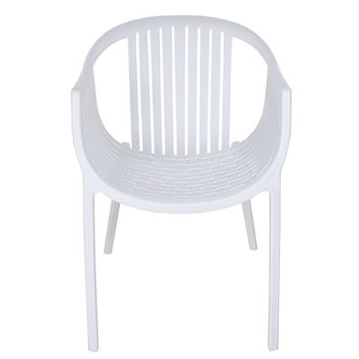 Cadeira Livorno Zidi injetada em polipropileno empilhável.