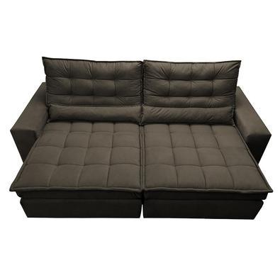 Leve muito conforto e design para sua casa com o Sofá Cama inBox Gold! Esse sofá faz parte da linha especial de estofados Cama inBox que traz uma mara