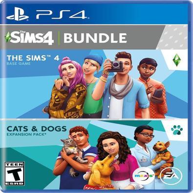 JOGO MÍDIA FÍSICA, NOVO E LACRADO, ORIGINAL -  Consiga o conteúdo de gatos e cachorros The Sims 4 e The Sims 4 em um ótimo pacote! você está no contro