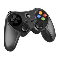 Controle Ipega 9078 funciona sem fio por Bluetooth com aparelhos como Smartphone, Tablet, Computador, TV Box e Smart TV e também via cabo Usb com Comp