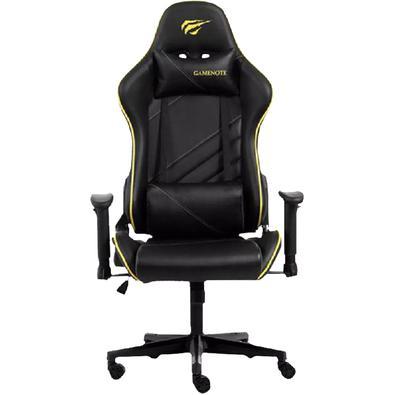 Cadeira Gamer Havit Gc930 Preta E Amarela - Gc930yellow