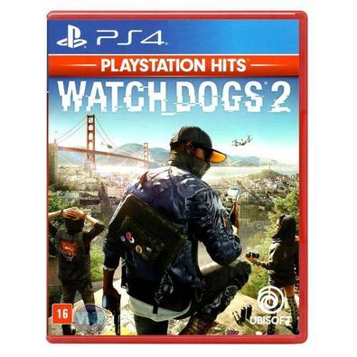 Jogo Watch Dogs 2 Hits - PS4Quando Marcus Holloway, um engenheiro de computação, é acusado injustamente de um crime, ele se junta a DedSec e outros ha